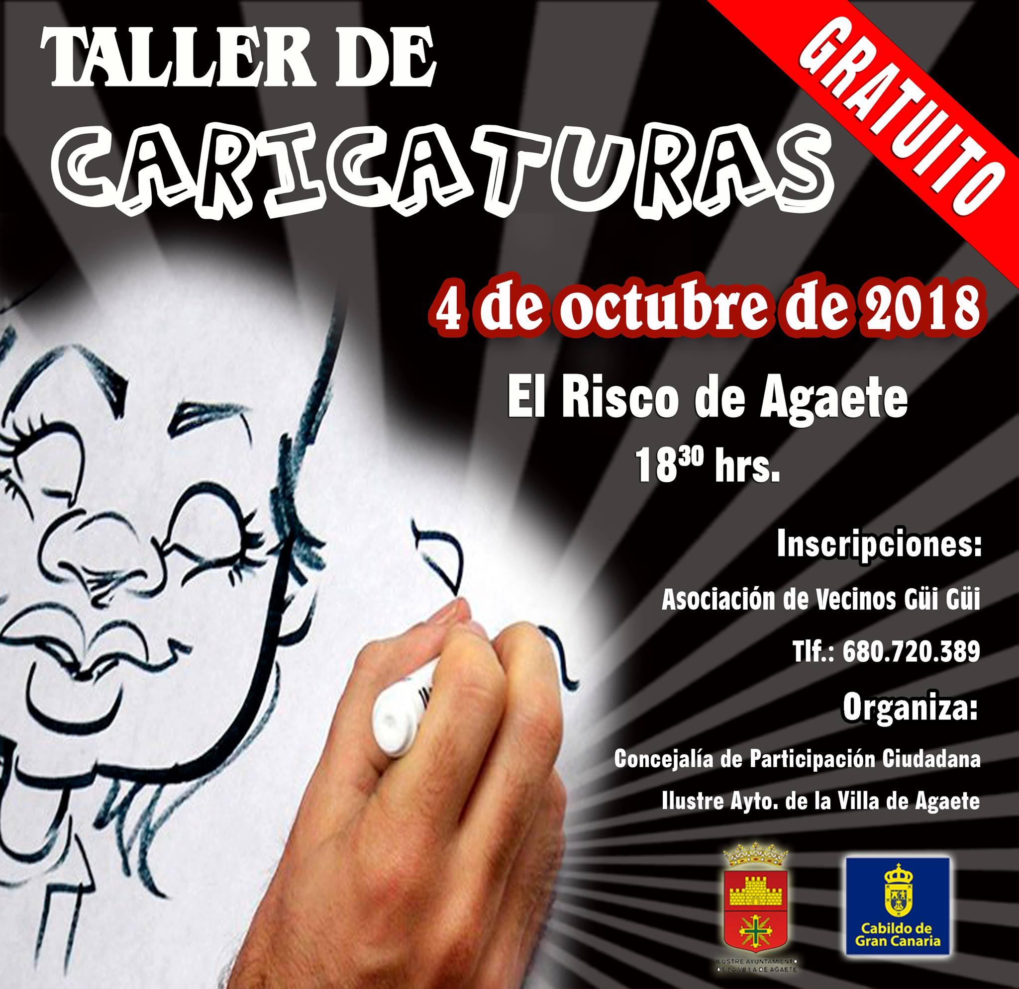 El Risco acoge el Taller de Caricaturas | Ayuntamiento de Agaete ...